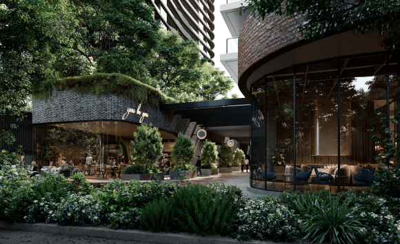 The top five off the plan Sydney apartments with on-site retail and dining facilities