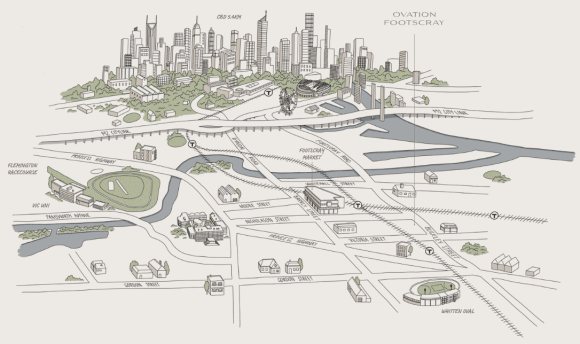 Walking Tour: What's within walking distance of Footscray's Ovation?
