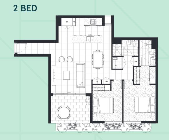 Floorplan focus: The various apartment configurations at Western Sydney's Auburn Square