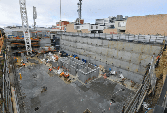 Over 50% of Ryrie Home, Geelong apartments sold as structure comes out of the ground