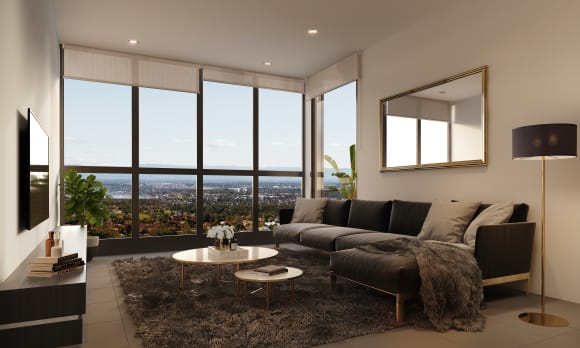 Urban's tour of a completed Skyview apartment