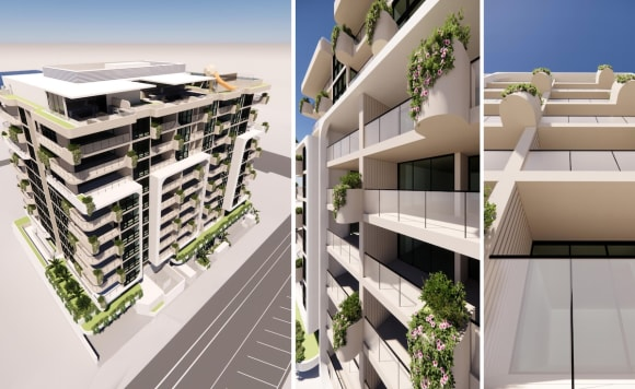 First look: S&S Projects lodge plans for mixed-use Coolangatta development Esprit