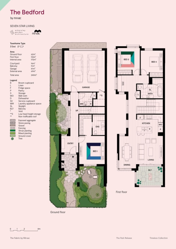 Floorplan focus: A look at the townhouse layouts at The Fabric in Altona North