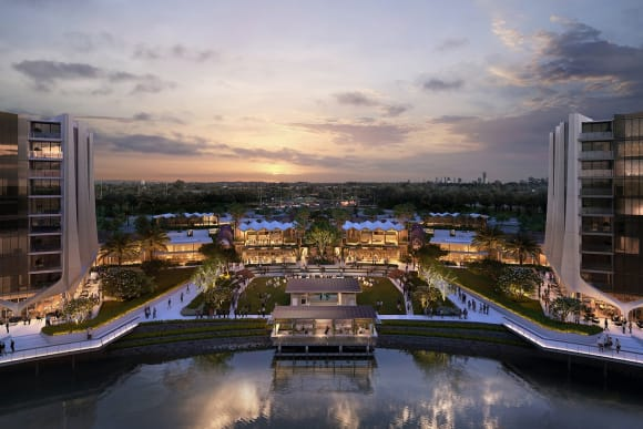 The Lanes Residences in Mermaid Waters over 75% sold as completion approaches