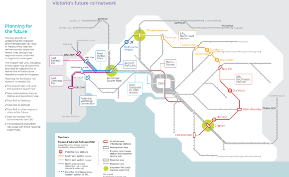 Western Melbourne's complex rail plan needs to be done right