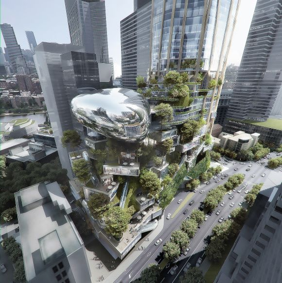 Southbank by Beulah: MAD Architects & Elenberg Fraser - The Urban Tree