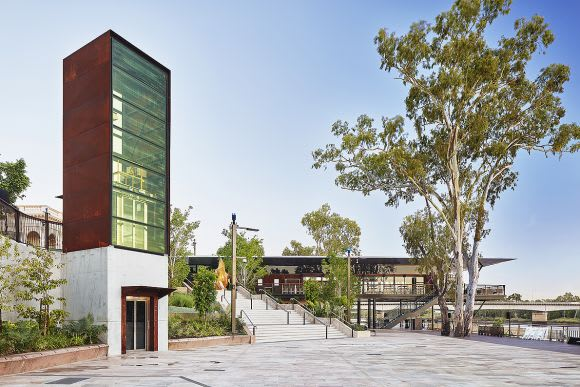 Woods Bagot and Urbis revitalise Rockhampton Riverside precinct