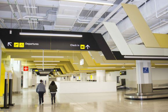 The new T4 at Tullamarine opens