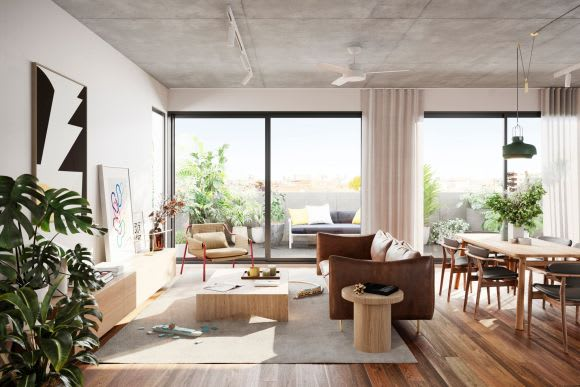 Emphasis on sustainable design for Milieu's latest in Brunswick