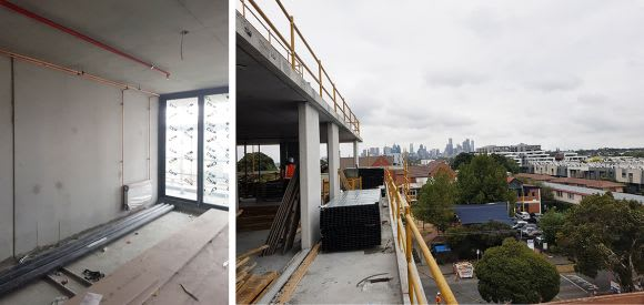Urban goes onsite with Lucent at Lt. Miller & Nightingale