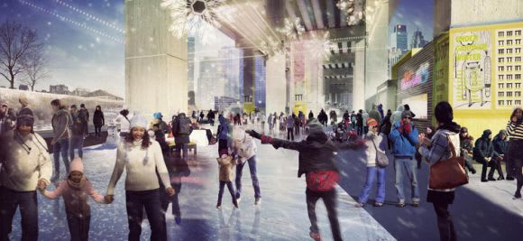 Taking a cue from Toronto to create the Southbank M1 Undercroft
