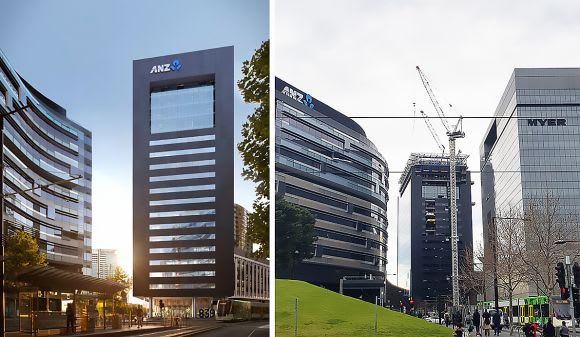 Melbourne's Collins Street continues to soar as construction heats up