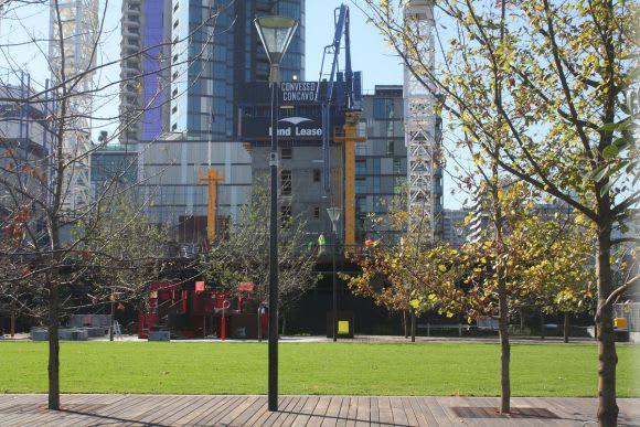 Talking up Docklands' newest showpiece