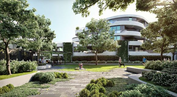 Jack Merlo sheds light on the landscape design for Hawthorn Park