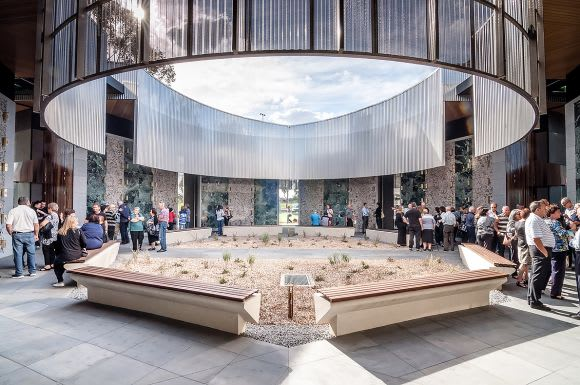 Road to the Victorian Architecture Awards 2018: Harmer Architecture's Atrium of Holy Angels Mausoleum