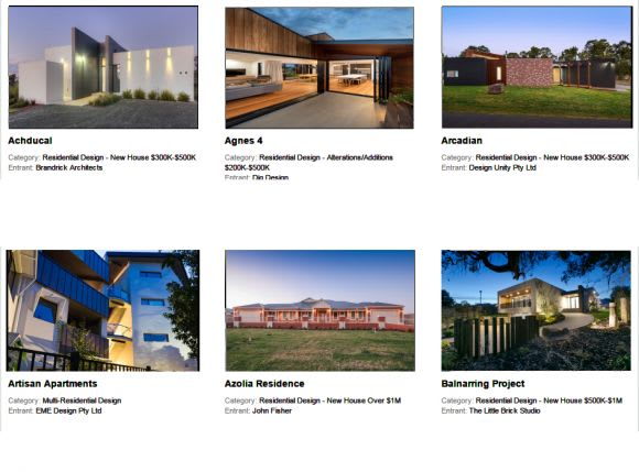 Vote for Victoria's best in building design