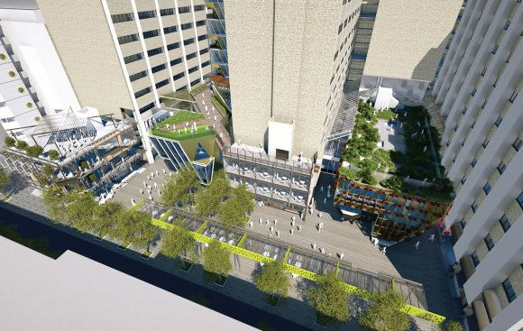 In Detail: RMIT's New Academic Street