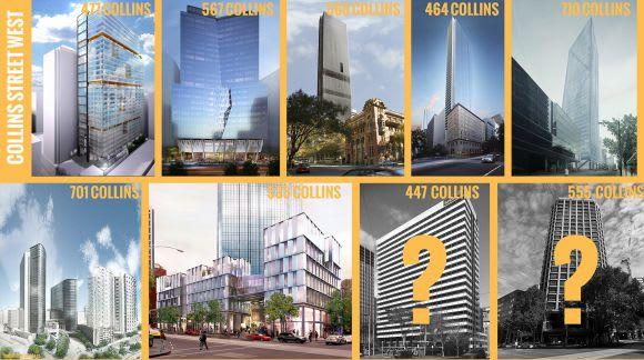 Planning Application > 477 Collins Street, Melbourne