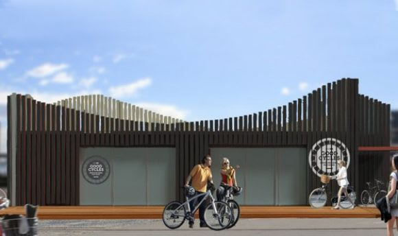 Docklands Community Bike Hub hopes to add to the social fabric of Docklands