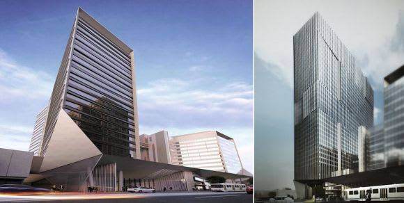 Could 311 Spencer Street become one of Melbourne's tallest office towers?