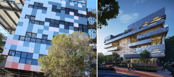 Two stand out Melbourne projects reveal their true colours