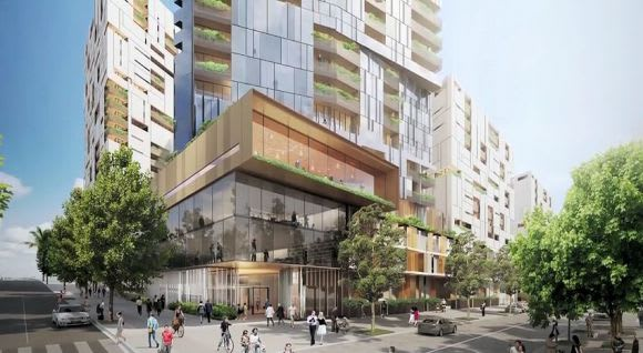 Council apprehensive over the revamped 939-apartment 8 Hopkins Street