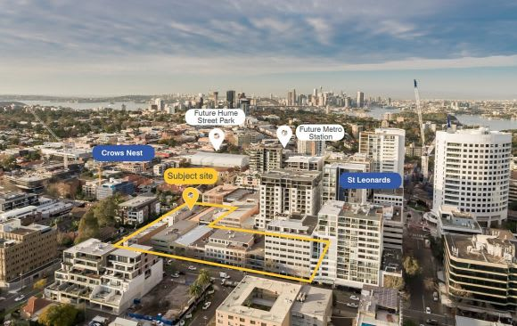 TWT sees a new purpose for a rezoned St Leonards site