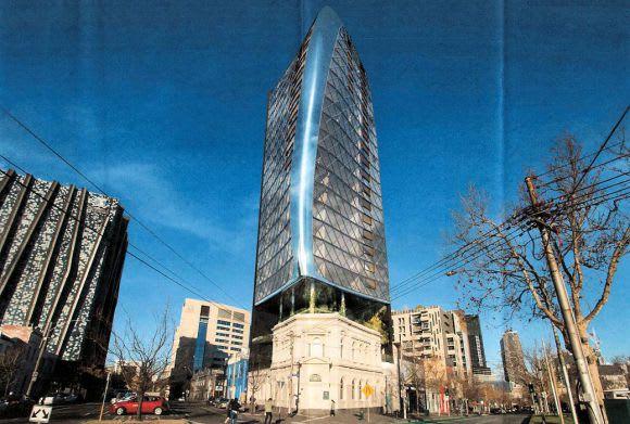 At arm's length: 696-708 Elizabeth Street, Melbourne