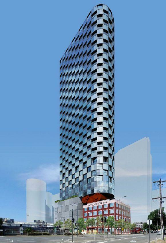Corten of contention: peckvonhartel's new Fishermans Bend tower in focus