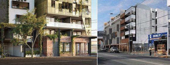 Antipodean style: Another design sensitive apartment project for Brunswick East