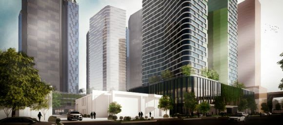 The latest Fishermans Bend developer with a spring in their step?