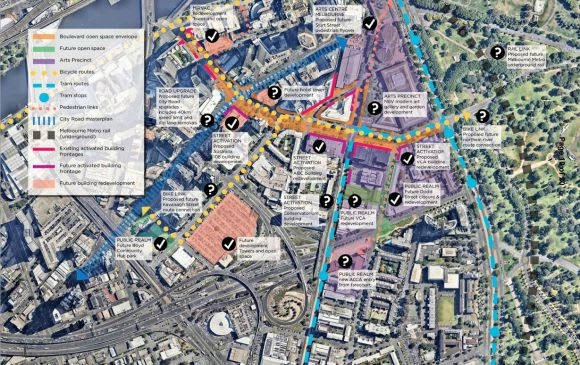 Transforming Southbank Boulevard and Dodds Street