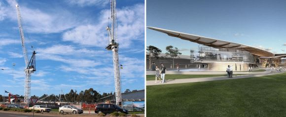 The Federation Square of Melbourne's east takes shape