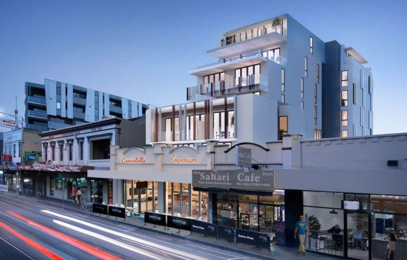 Melbourne's development by tram: the 19