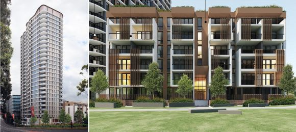 Macquarie Park's transformation takes a Meriton step forward