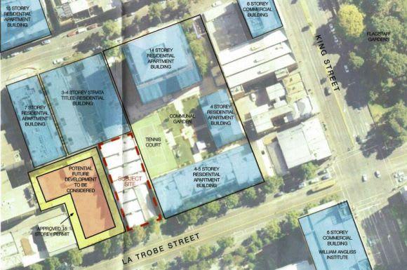 Planning Application > 488-494 La Trobe Street, West Melbourne