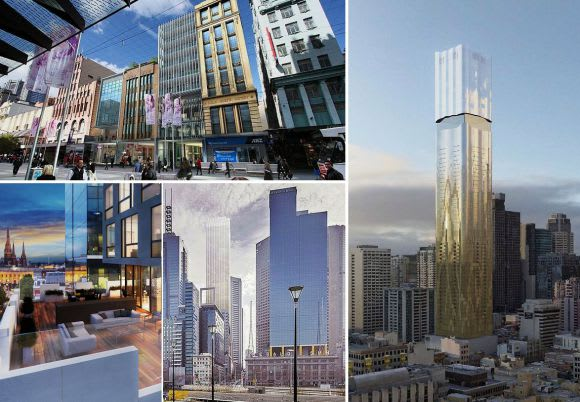 Eastern promises - an overview of Melbourne CBD's East End developments