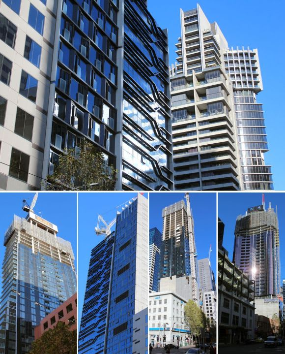 The CBD's northern construction boom in colour
