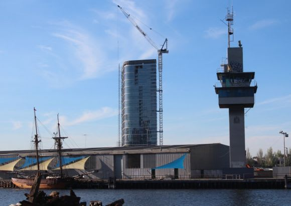 Mirvac's Forge tops out with Voyager on the horizon