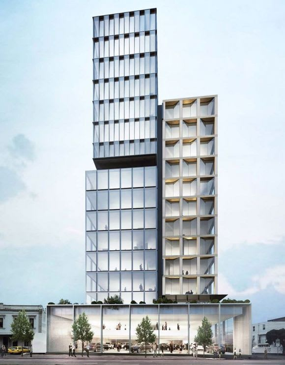 Yarra receives a commercial boost, including plans for Fitzroy's tallest office building