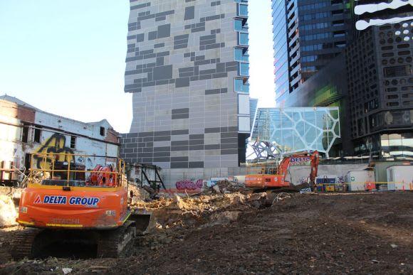 Seventh heaven: Melbourne sports seven 200 metre towers under construction