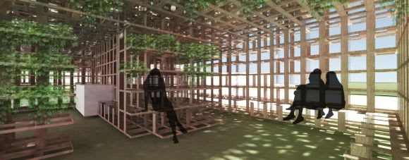 NGV Pavilion 2016: Laurence Dragomir and Isaac Mortimer