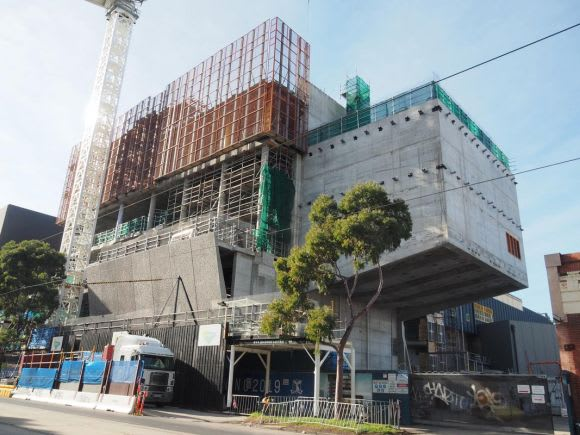 Southbank Construction Overview - August 2018