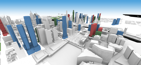 Melbourne CBD Model update: August 2016