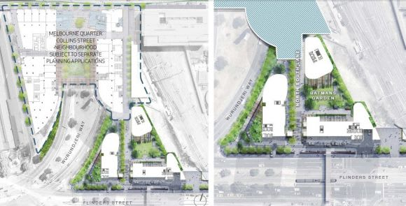 Planning Application: 614-666 Flinders Street, Docklands