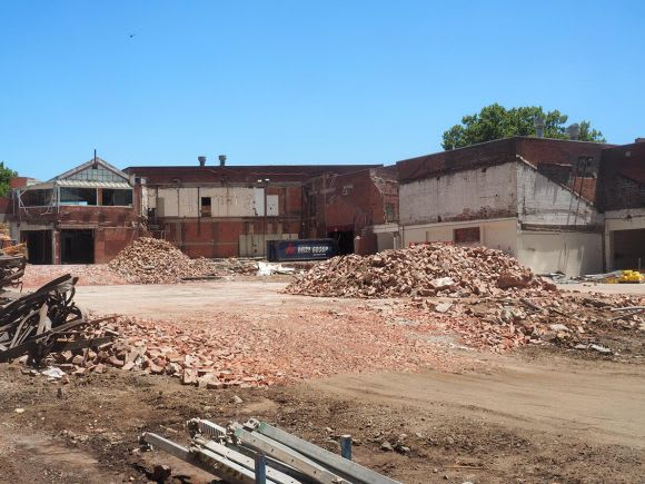 Demolition in full swing at City of Melbourne's 'Munro site'