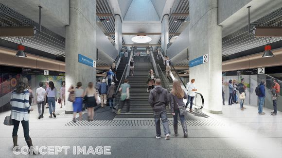 Melbourne Metro's finalised station designs unveiled