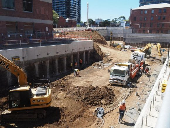 A snapshot of Melbourne's construction - March 2018