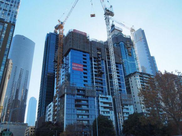 A snapshot of Melbourne's construction - June 2018