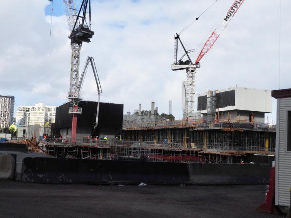 A snapshot of Melbourne's construction - September 2018